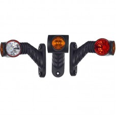 Gabaritna luč LED Horpol LD2180 desna / 12/24V, kabel, srednje dolga