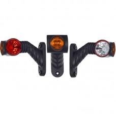 Gabaritna luč LED Horpol LD2181 leva / 12/24V, kabel, srednje dolga