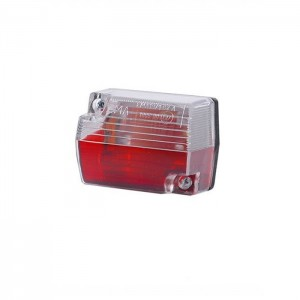 Gabaritna luč rdeče - bela
