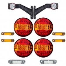 Set LED osvetlitve FX100 - 12 delni komplet