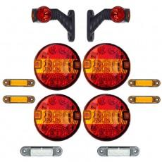 Set LED osvetlitve FX80 - 12 delni komplet