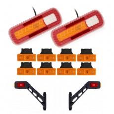 Set LED osvetlitve FX150 - 12 delni komplet