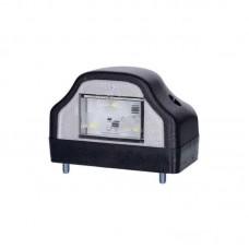 LED luč za osvetlitev tablice LTD229 - 12/24V, črno ohišje