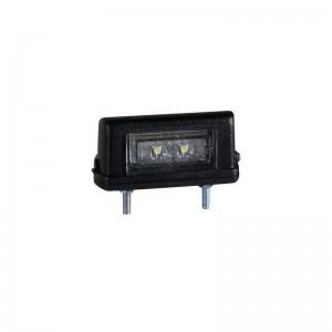 LED luč za osvetlitev tablice MD21 - 12/24V, črno ohišje