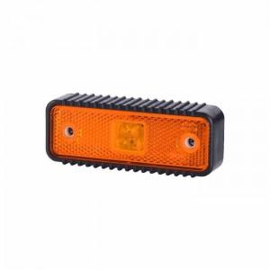 Pozicijska luč LED LD538 GUMI ohišje - Rumena 12V/24V