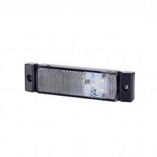 Pozicijska luč LED LD0127 - Bela 12V/24V, kabel