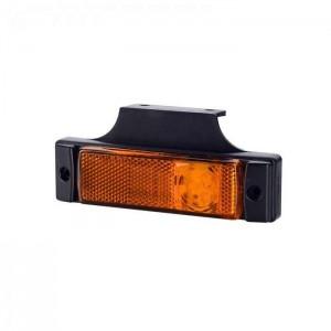 Pozicijska luč LED LD0128 - Rumena 12V/24V, kabel