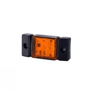 Pozicijska luč LED LD141 - Rumena 12V/24V, kabel