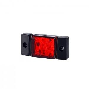 Pozicijska luč LED LD142 - Rdeča 12V/24V, kabel