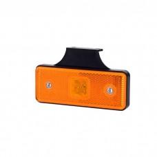 Pozicijska luč LED LD161 - Rumena 12V/24V, z nosilcem, kabel