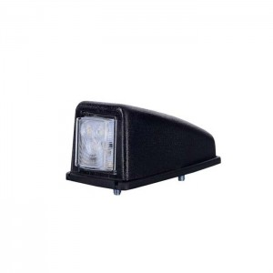 Pozicijska luč LED LD221 - Bela 12V/24V, kabel, vijaki