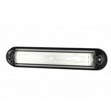 Pozicijska luč LED Line LD2332 - Bela 12V/24V, kabel