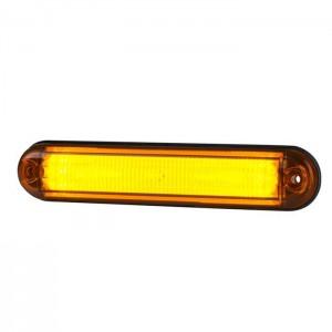 Pozicijska luč LED Line LD2333 - Rumena 12V/24V, kabel