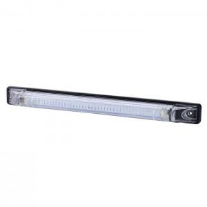 Pozicijska luč LED Slim Line LD472 - Bela 12V/24V, kabel