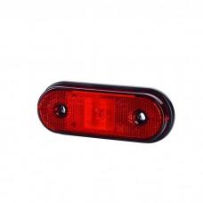 Pozicijska luč LED LD634 - Rdeča 12V/24V, kabel