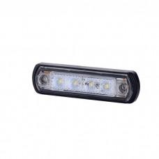 Pozicijska luč LED LD675 - Bela 12V/24V, kabel