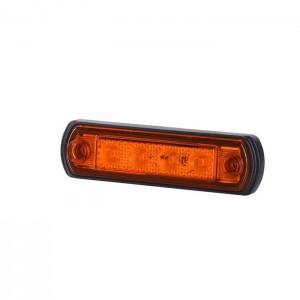 Pozicijska luč LED LD676 - Rumena 12V/24V, kabel