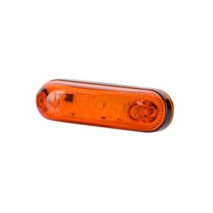 Pozicijska luč LED LD390 - Rumena 12V/24V / Kabel