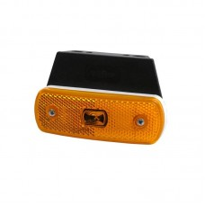 Pozicijska luč LED 301.57  - Rumena 12V/24V / Kabel