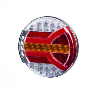 Zadnja LED luč dinamični smerokaz, 4-Funkcije Horpol Navia 12V/24V