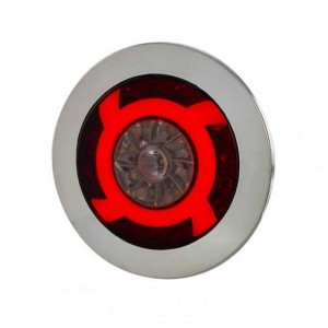 Zadnja NEON LED luč 3-Funkcije (vzvratna) Horpol LUCY 12V/24V