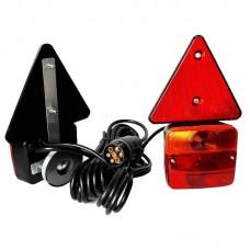Magnetne luči za prikolico - komplet