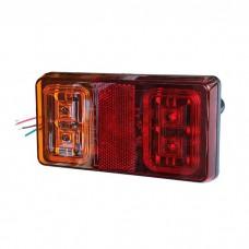 Zadnja luč LED leva ali desna / 12/24V, Kabel