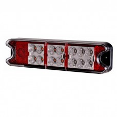 Zadnja luč LED univerzalna SLIM / 12/24V, Kabel