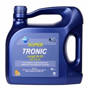 Motorno olje Aral Super Tronic LongLife III 5W30 4L
