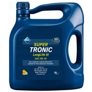 Motorno olje Aral Super Tronic LongLife III 5W30 5L