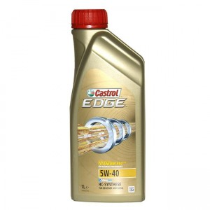 Motorno olje Castrol Edge Turbo Diesel FST Titanium 5W-40 1L