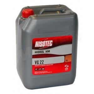 Hidravlično olje Nisotec Hidrol HM 22 10L