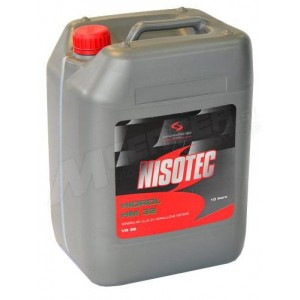 Hidravlično olje Nisotec Hidrol HM 32 10L