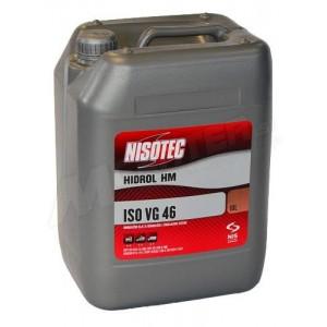 Hidravlično olje Nisotec Hidrol HM 46 10L