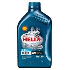 Motorno olje Shell Helix Diesel HX7 AV 5W30