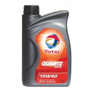 Motorno olje Total Quartz 5000 15W40