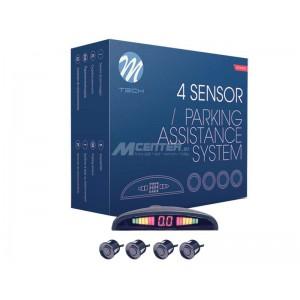 Parkirni senzorji s Slim LED displejem + 4 SENZORJI