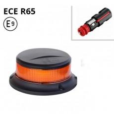 Opozorilna luč LED 27W, Utripajoča, Magnetna 12/24V