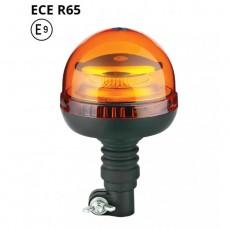 Opozorilna luč LED 19W, Utripajoča, Nasadna 12/24V