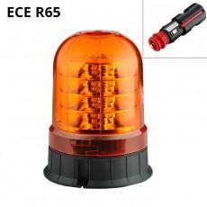Opozorilna luč LED 24x3W, 12/24V / ECE R65 - magnetna