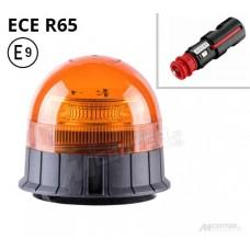 Opozorilna luč LED 19W, Utripajoča, Magnetna 12/24V