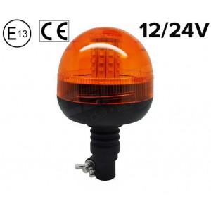 Rotacijska LED luč 10W, Nasadna, Vodoodporna
