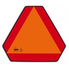 Trikotnik za počasna vozila ECE 69.01, Aluminijast z nastavkom