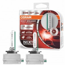 Xenon žarnice D3S Osram Night Breaker Laser 35W - DUO Pack