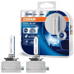 Xenon žarnice D3S Osram Cool Blue Intense 35W - DUO Pack