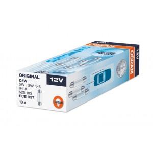 Žarnice C5W 11X35mm 12V 5W, Osram - 6418, 10 kos