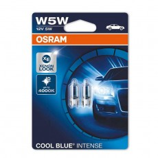 OSRAM Cool Blue Intense žarnice W5W 12V - duo pack