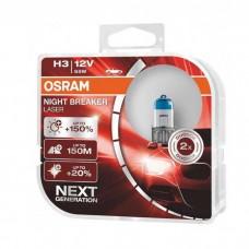 Žarnice H3 OSRAM Night Breaker Laser (Next generation)
