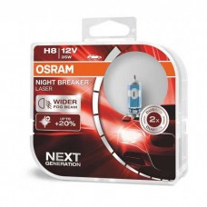Žarnice H8 OSRAM Night Breaker Laser (Next generation)