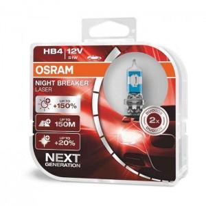 Žarnice HB4 OSRAM Night Breaker Laser (Next generation)